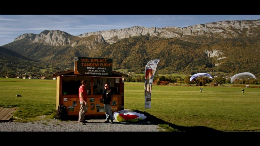 Apprendre le parapente avec l'école Libre Envol (Annecy)