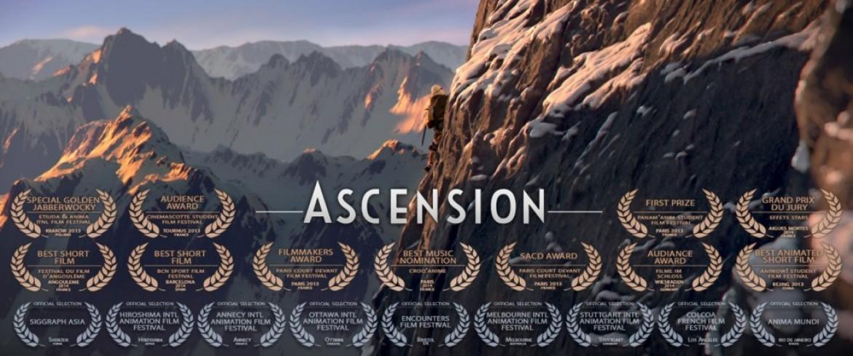 « Ascension », une étonnante histoire (film animation très primé)