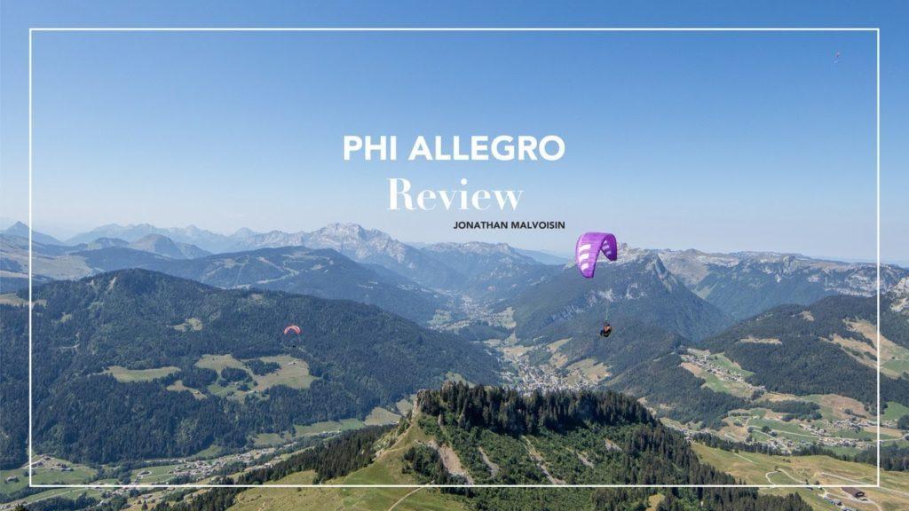 Premières impresssions de Jonathan sur la voile PHI Allegro (EN C)