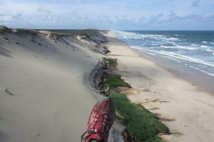 Vol performance sur cordon dunaire, 173 km en marche et vol