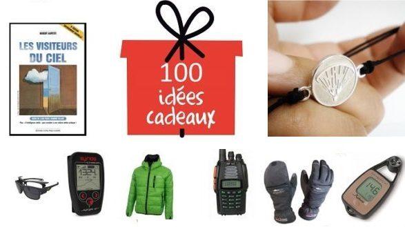 100 idées de cadeaux de Noël pour parapentiste
