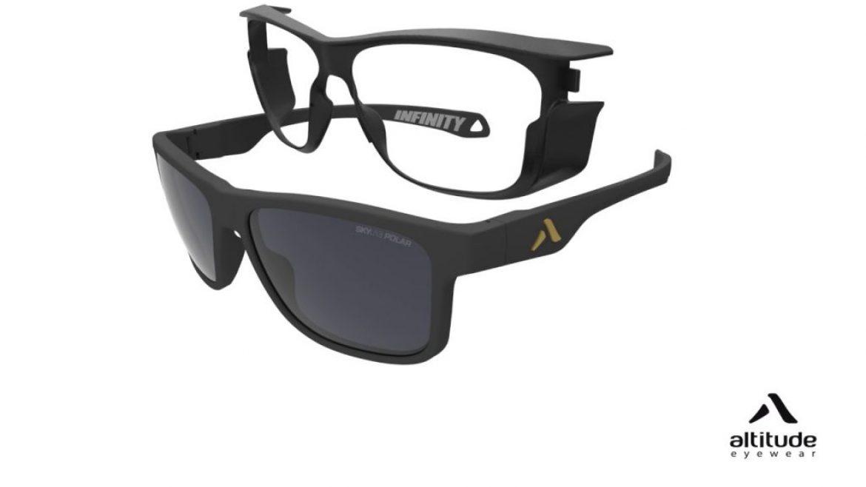 Des lunettes de soleil polyvalentes grâce à leur coque amovible !
