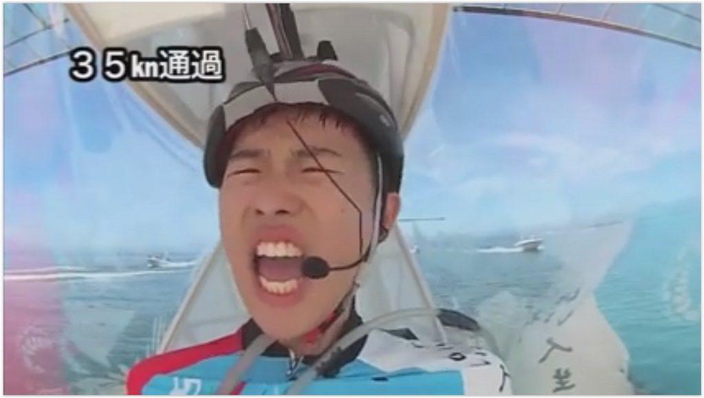 Birdman Rally, course d'avions à propulsion humaine au lac Biwa (Japon)
