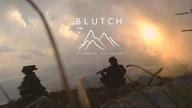 « Blutch », la traversée de l'Himalaya en parapente par Jean-Yves Fredriksen