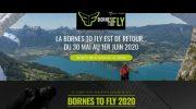 La compétition «Bornes to fly» du 30 mai au 1er Juin 2020 : inscriptions ouvertes