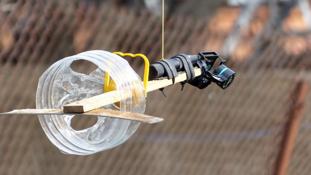 Le système de caméra suiveuse avec stabilisateur de Nadir