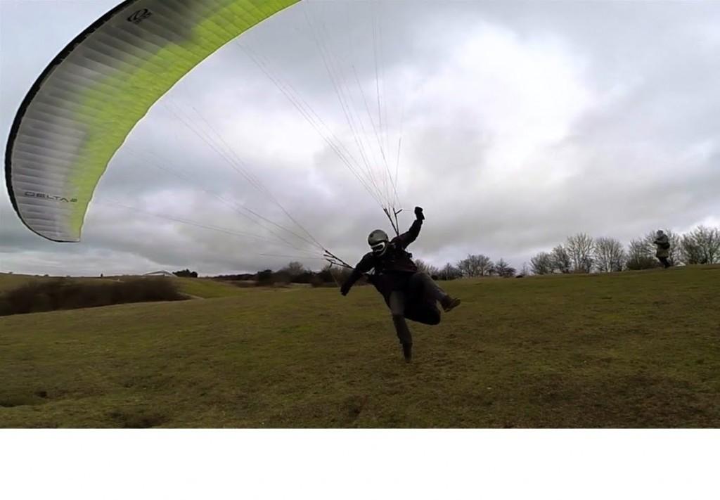 Chai Anich maîtrise à merveille le décollage par vent fort