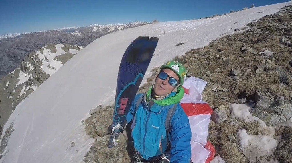 Combo ski et parapente avec François Ragolski