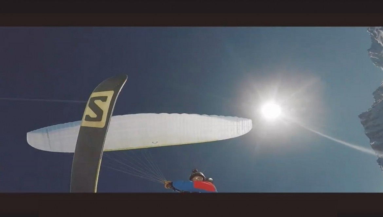 La magie du combo parapente et ski avec Eliot Nochez