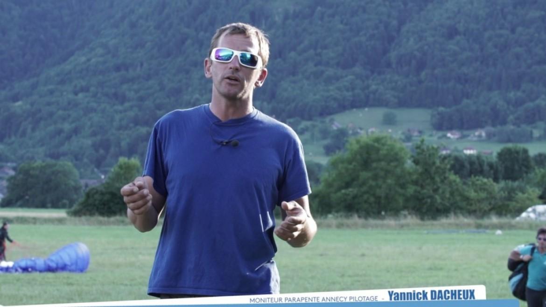 Conseils FFVL : le décollage / bien préparer sa voile