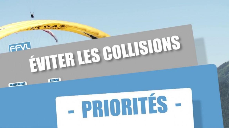 Conseils FFVL : restez prudent sur les priorités en l'air