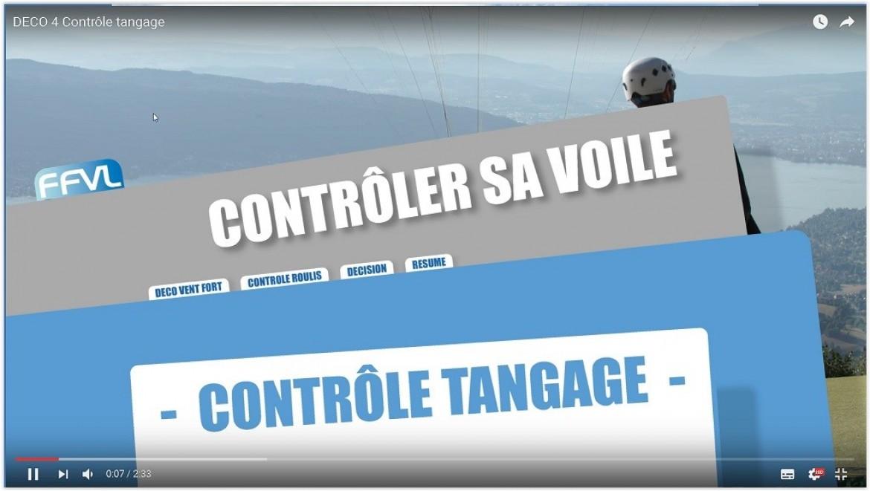 Conseils FFVL : le décollage / contrôle du tangage au décollage