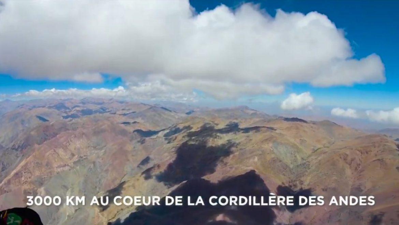 « Le sillage du Condor », 3000 km en marche et vol dans la Cordillère des Andes