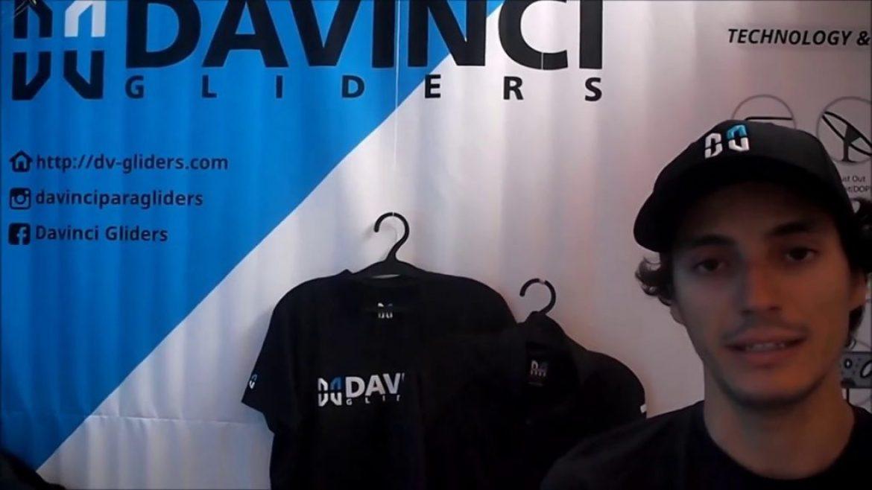 Coupe Icare 2018 : DAVINCI, nouveau fabricant parapente coréen en France