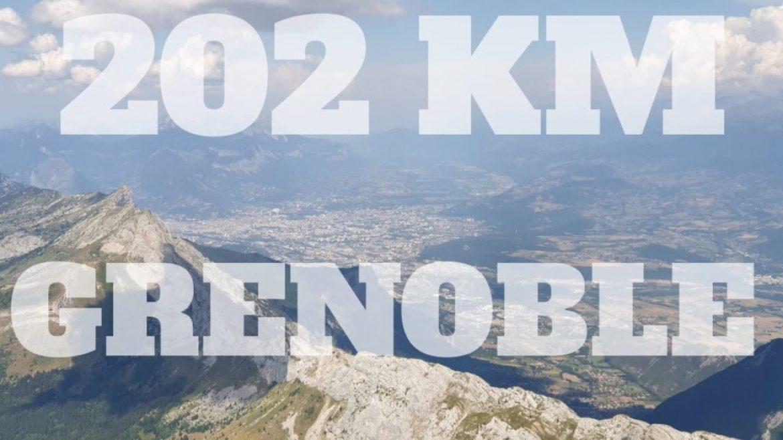 Cross de Chabre (Laragne) à Grenoble – aller/retour (202 km)