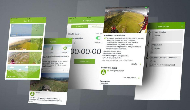 EOglide, une plateforme dédiée pour la pratique du vol libre