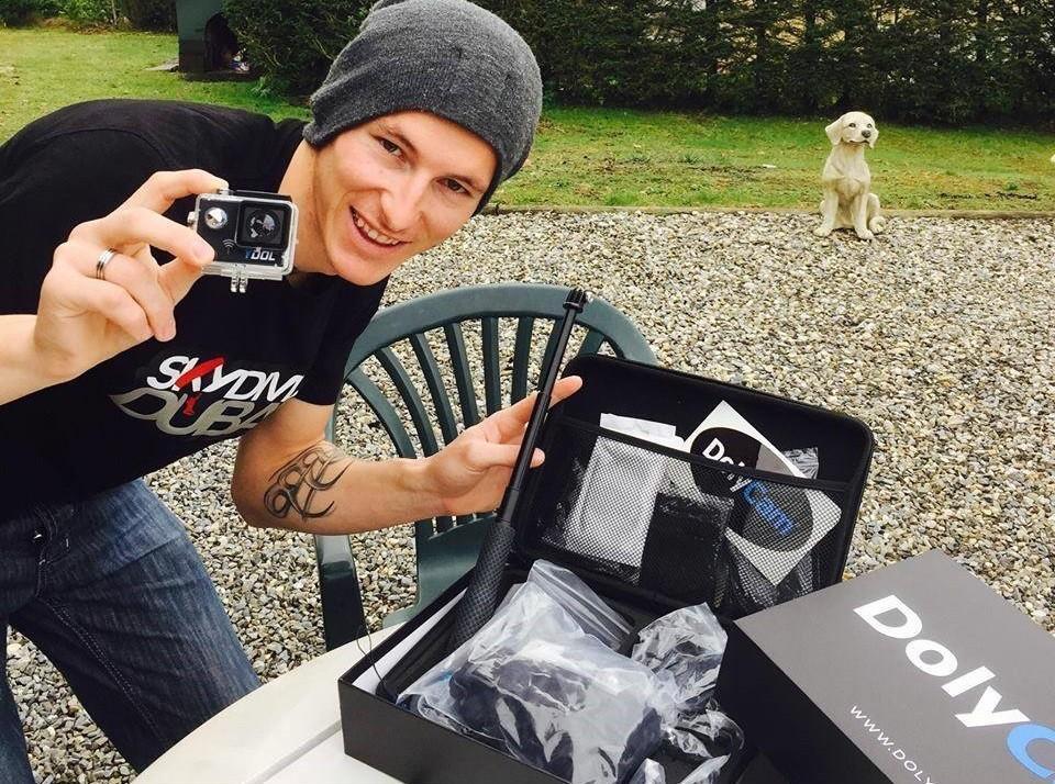 Louez une caméra embarquée DolyCam pour 1 ou 2 semaines !