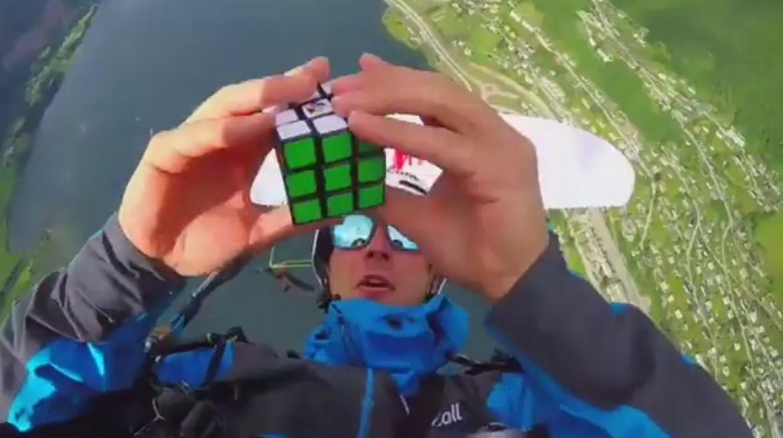 François Ragolski termine un Rubi's Kub en Infinity tumbling