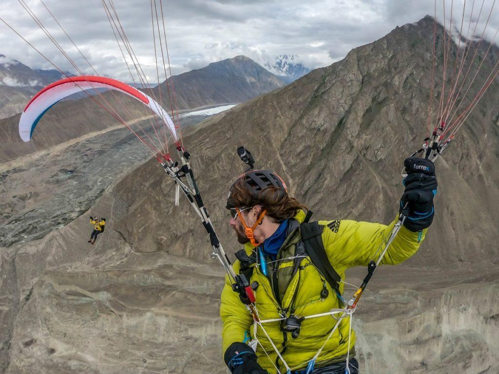 1500 km en vol-bivouac au coeur du Karakoram avec Antoine et Damien
