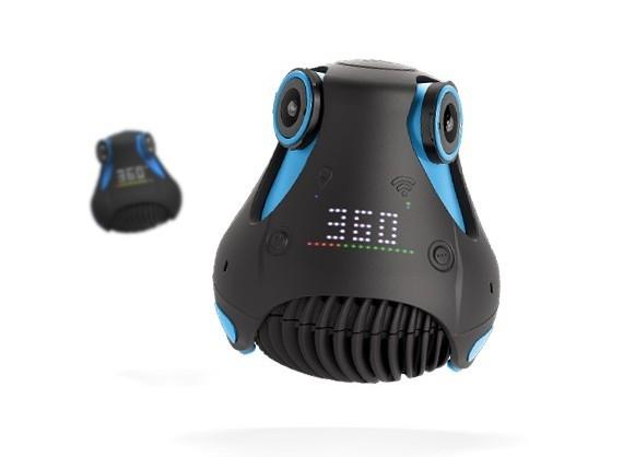 La Giroptic 360cam, une caméra 360° véritable