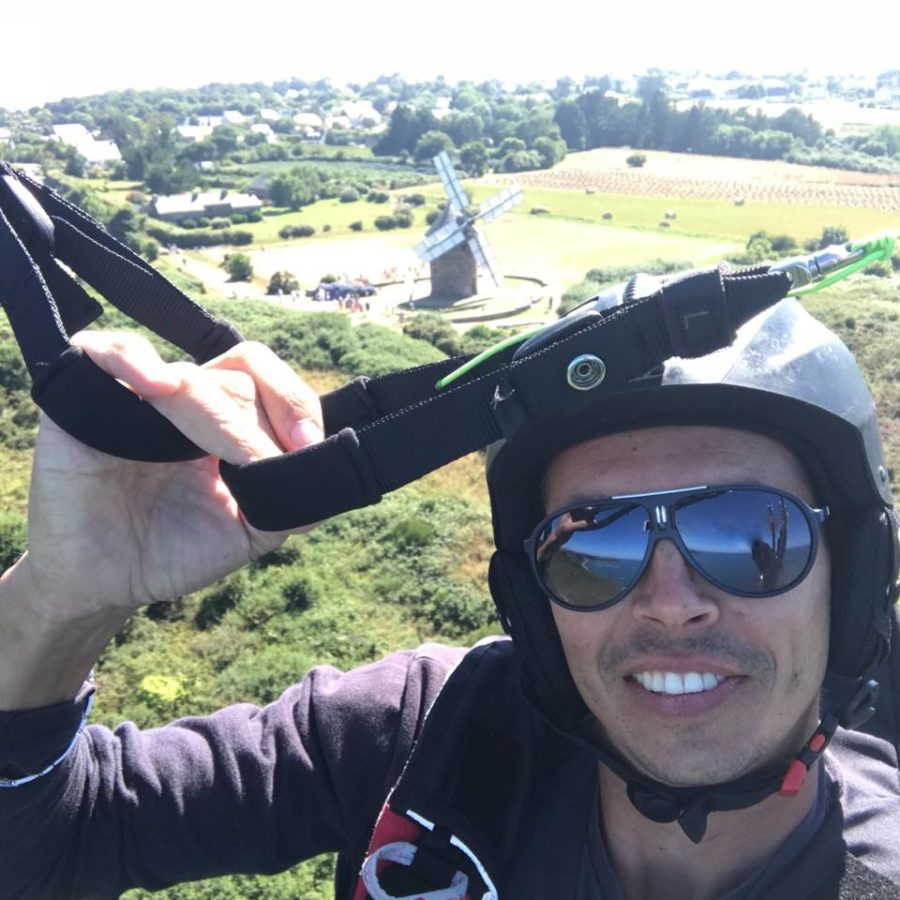 Grégory Roy, un nouveau pilote mais déjà beaucoup d'heures de vol