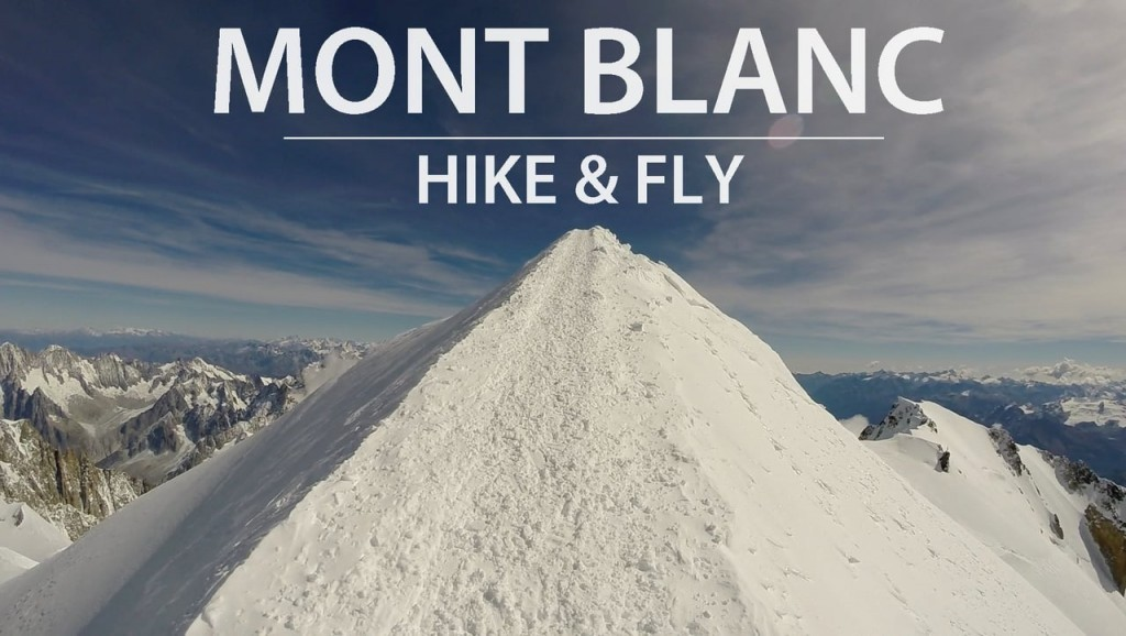 Hike and Fly au Mont Blanc avec Fred Souchon