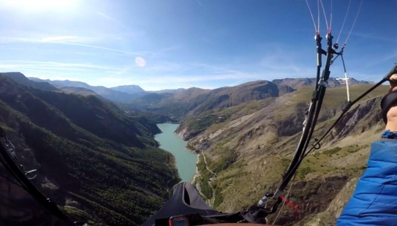 Hike & fly et auto-stop de Saint Hilaire à Saint André par Tony Boissier