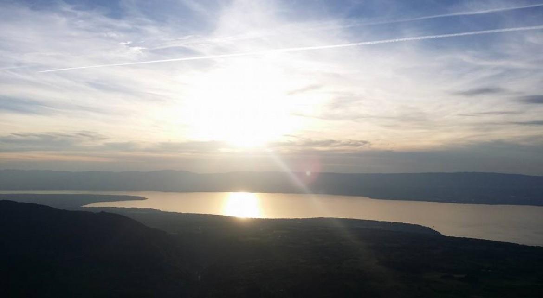 Le super vol d'Honorin Hamard de Nice au Lac Léman (342 km)