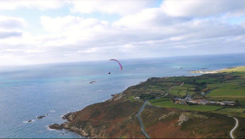 Honorin Hamard a testé l'OZONE Delta 3 sur la côte normande