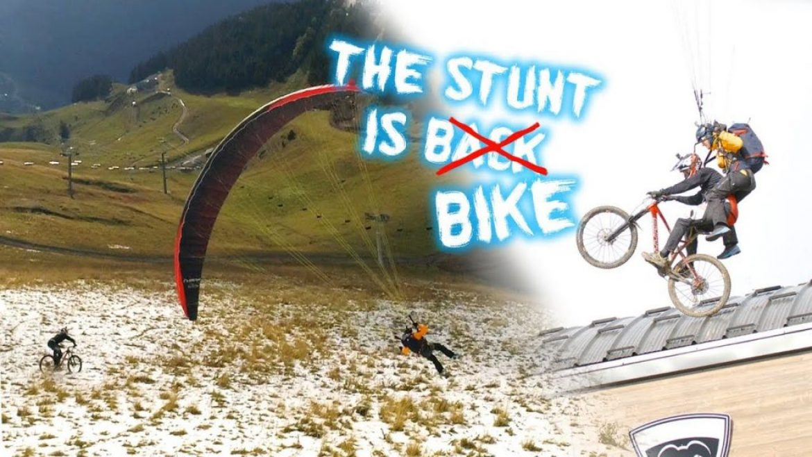 « The Stunt is bike », Eliot Nochez en course folle avec un VTT