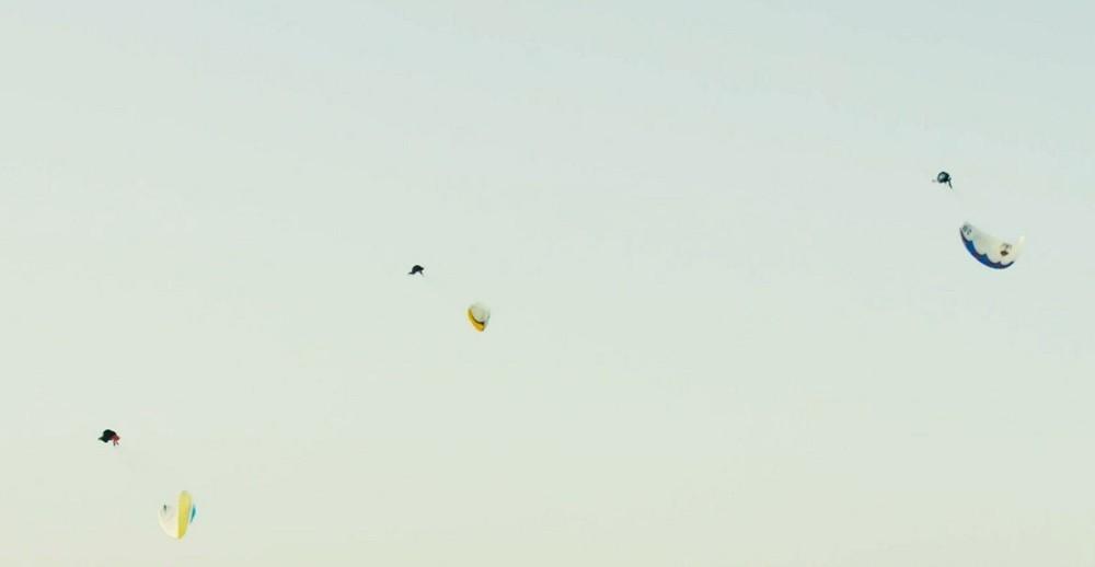 Record d'Infinity Tumbling en vols synchronisés à 3 pilotes