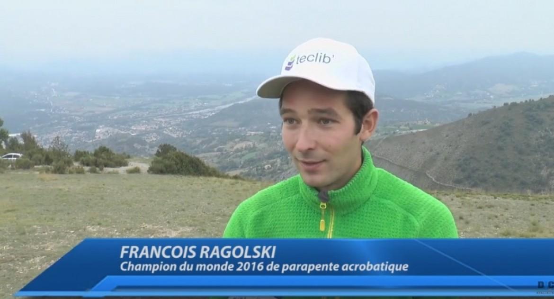 Rencontre avec François Ragolski sur le lieu de ses premiers vols