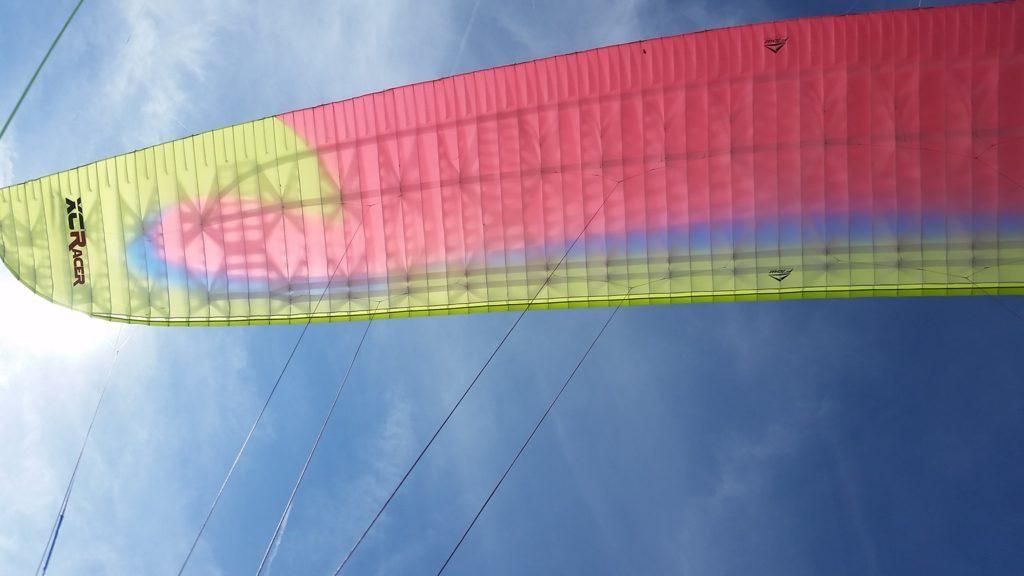 Essai de la XCRacer de chez FLOW Paragliders par Sébastien Renaud (EN D)