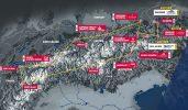 L'itinéraire de la Red Bull X-Alps 2021