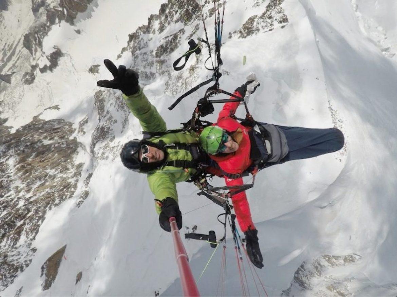 Denis Verchère propose un vol au Mont Blanc à Jacques Gamblin