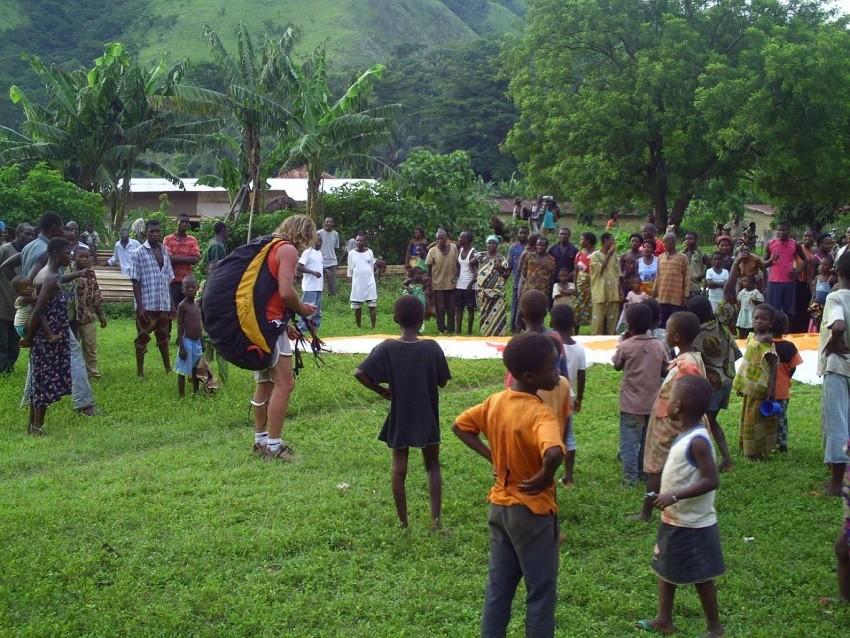 Voyage parapente au Togo avec JENNIF'AIR