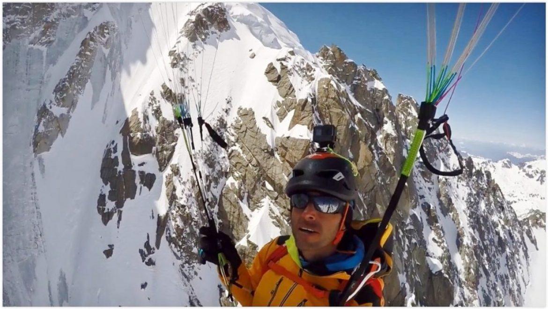 Sommet d'altitude et descente rapide en parapente, le must pour Julien Irilli