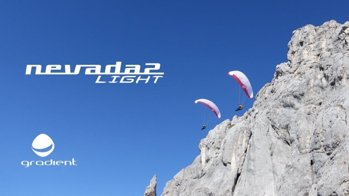 La GRADIENT Nevada 2 light, une aile de cross perf EN B