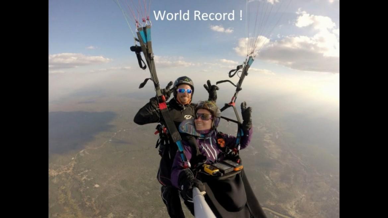 La vidéo des vols record en biplace d'Honorin Hamard