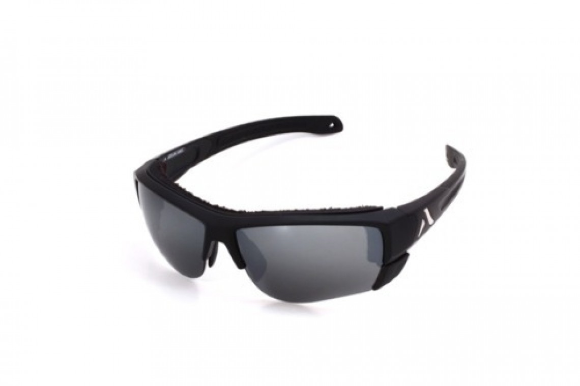 Altitude Eyewear Lander noire flash argent cat 4+AR