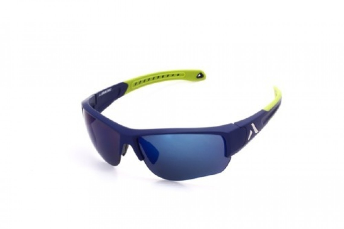 Altitude Eyewear Lander violet /vert polarisant flash bleu cat 3