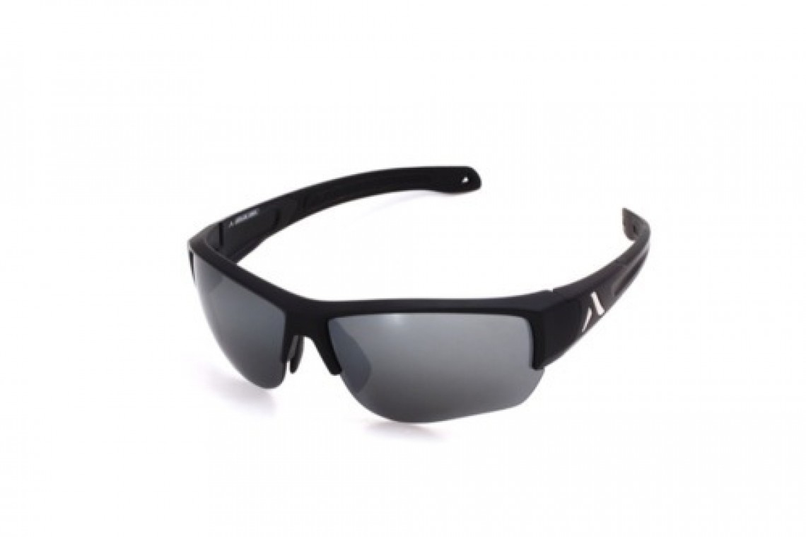 Altitude Eyewear Lander noire flash argent cat 4+AR (nu)