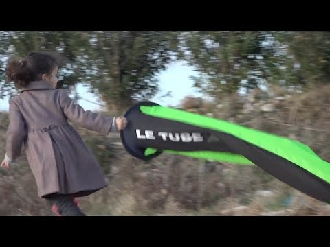 Le sac de pliage « Le Tube » essayé par le testeur Ziad Bassil
