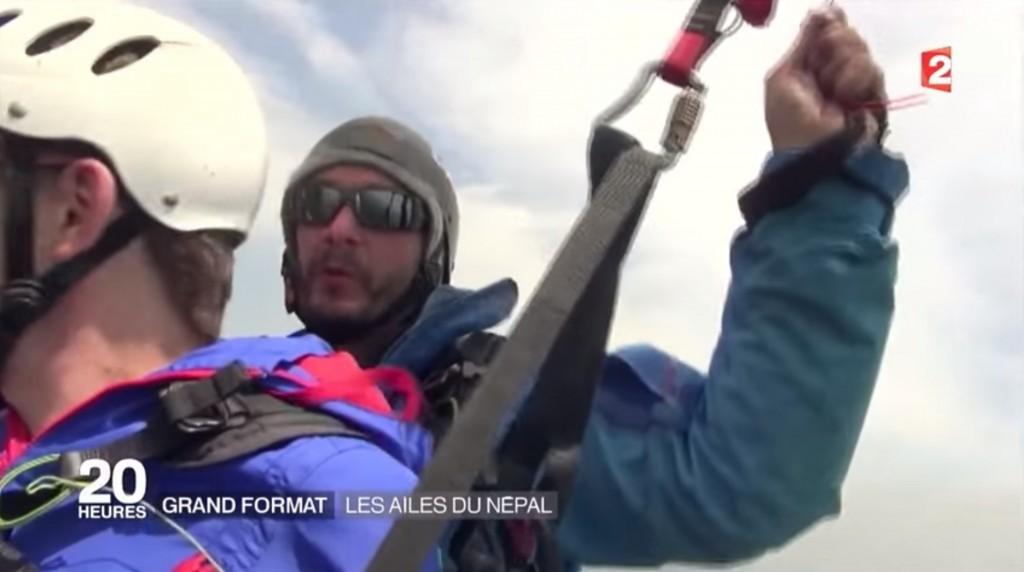 « Les ailes du Népal », reportage France 2 sur Pascal Dumesnil