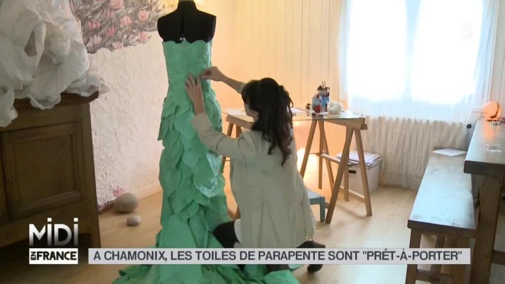 Les toiles de parapente recyclées en « prêt à porter »