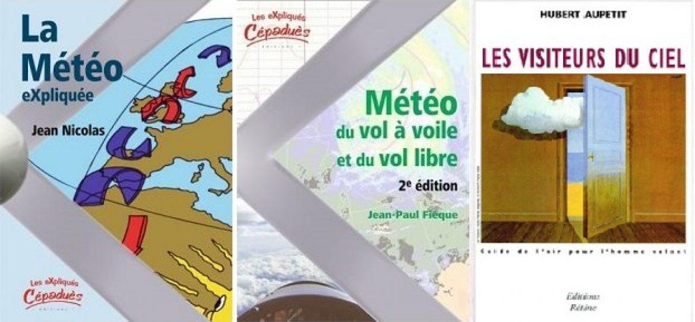 Livres sur la météo spécifiques pour le parapente et le vol libre