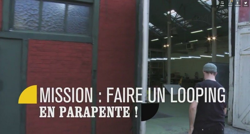 France 5 avec Léo Besombes pour comprendre le looping