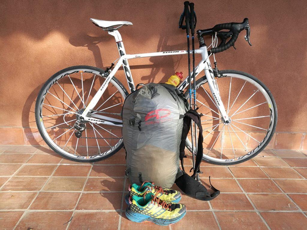 Combo parapente écolo : 5 sites en vélo/marche et vole le même jour