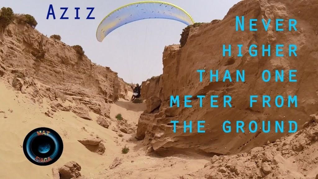 Mat a rencontré Aziz, le roi du soaring à Aglou (Maroc)