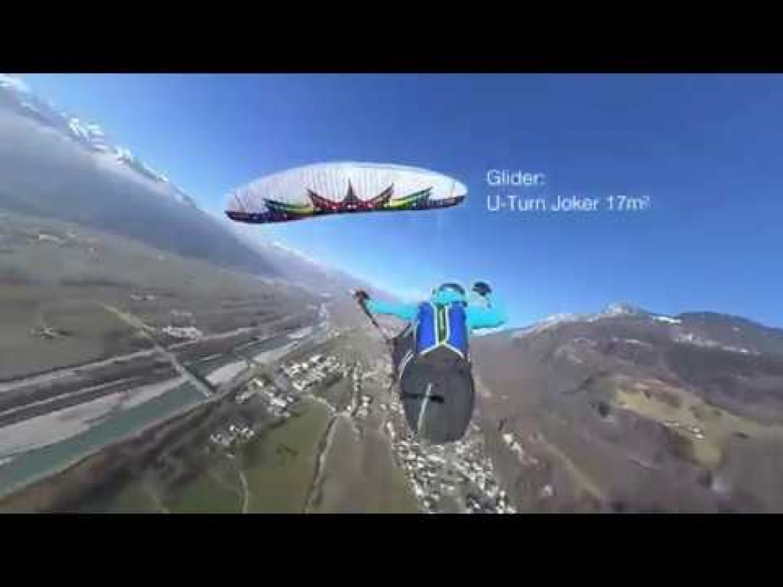Mieux suivre les prouesses d'un pilote acro grâce à une caméra 360°